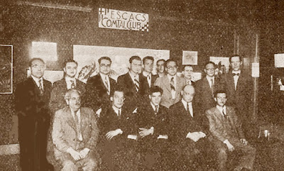 I Torneo Internacional del Comtal - Barcelona-1934