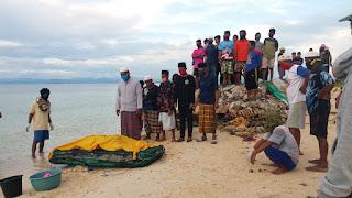 Mayat Lelaki Ambo, akhirnya ditemukan  di Pulau Lamputan