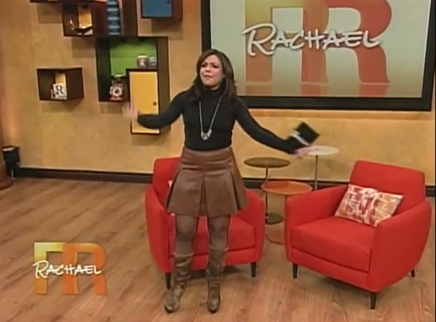 Rachael ray wearing pantyhose