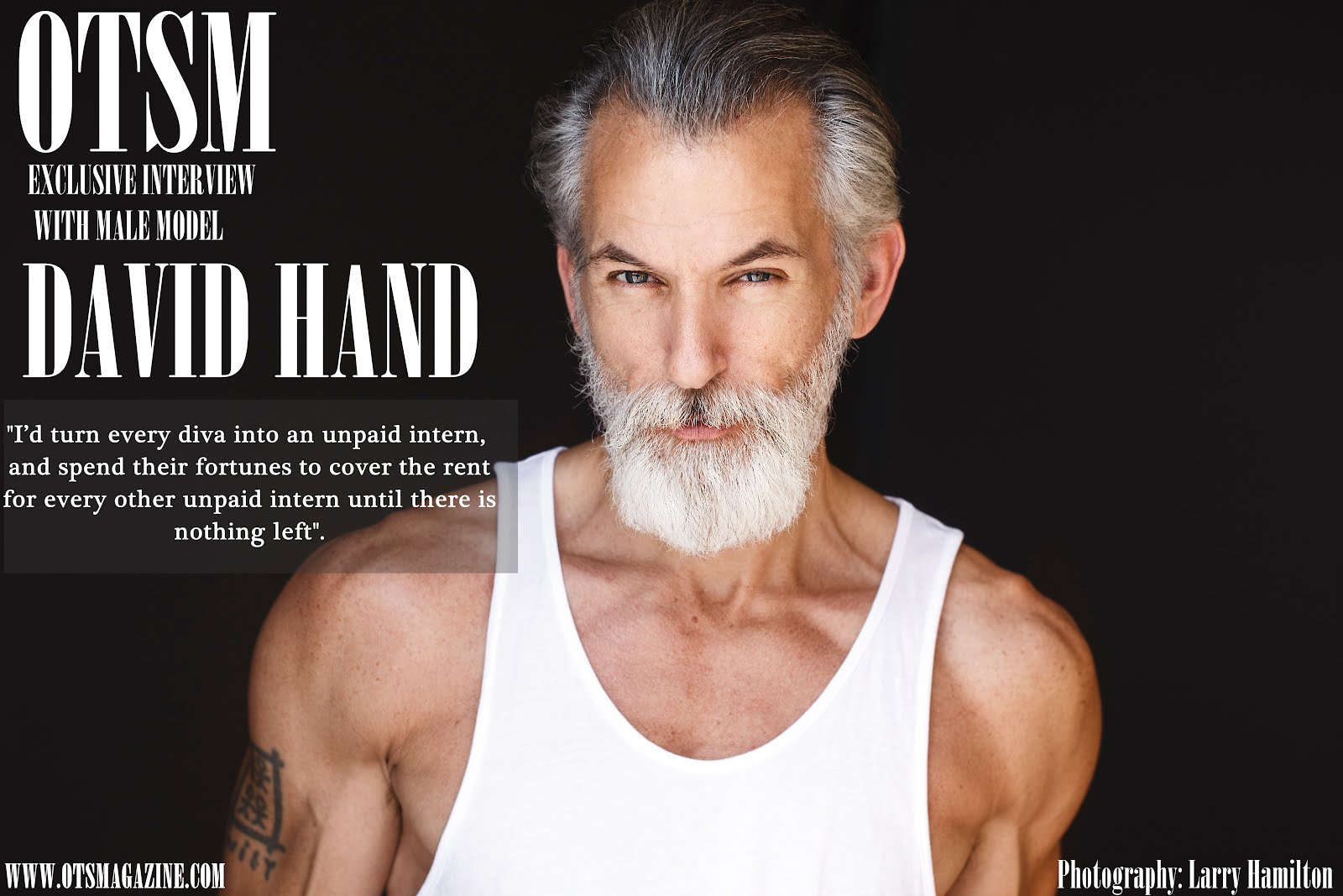 Fashion Interview - Meet Mister David Hand