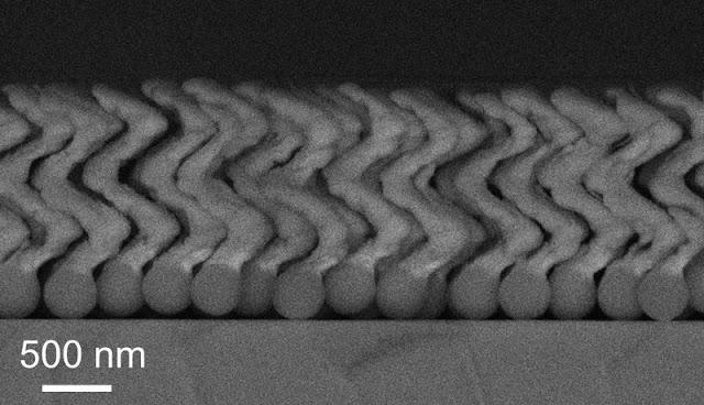 I nanorobot spingono attraverso l'occhio