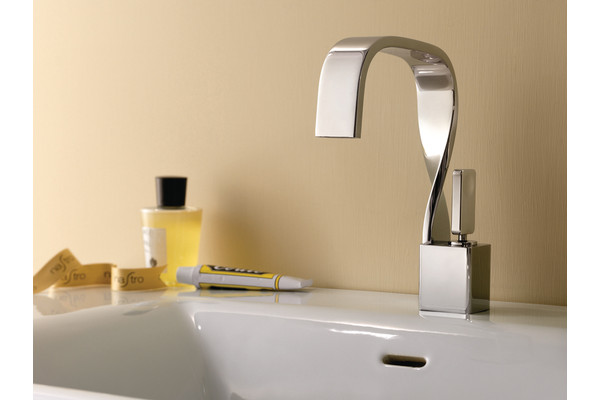 Three Hole Kitchen Faucet