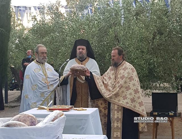 Την ανάμνηση της συνάντησης των Αγίων Πέτρου και Θεοδοσίου γιόρτασαν στο Παναρίτη Αργολίδας