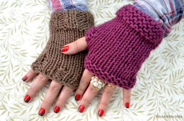 Luvinhas sem dedos são boas para aquecer as mãos enquanto digitamos a4a3b632ac2