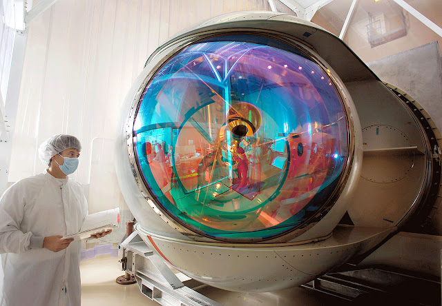 Chemical oxygen iodine laser coil laser ليزر كيميائي من اليود و الاكسجين Active Ranger System ARS  Airborne Laser yal-1a AAS-42 IRST