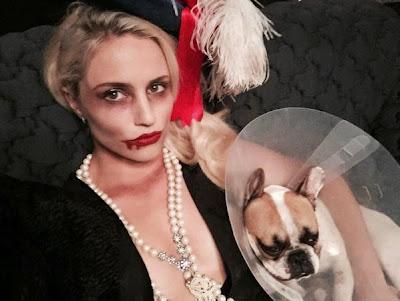Dianna Agron Halloween 2014