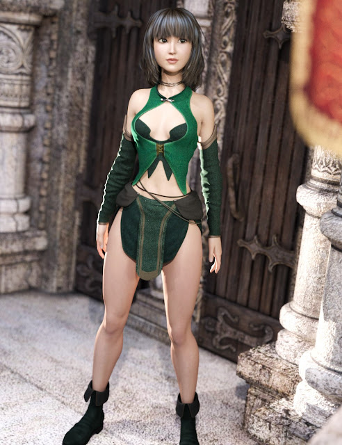 Innocent Witch for Genesis 3 Female