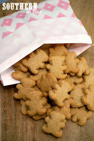 Homemade Gluten Free Tiny Teddies Recipe - gluten free, nut free, egg free, healthy, low sugar