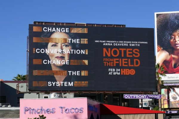 Notes from the Field HBO billboard