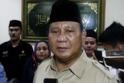 Prabowo: Sindir Jargon Pemerintahan Joko Widodo, 'Kerja Kerja Kerja'