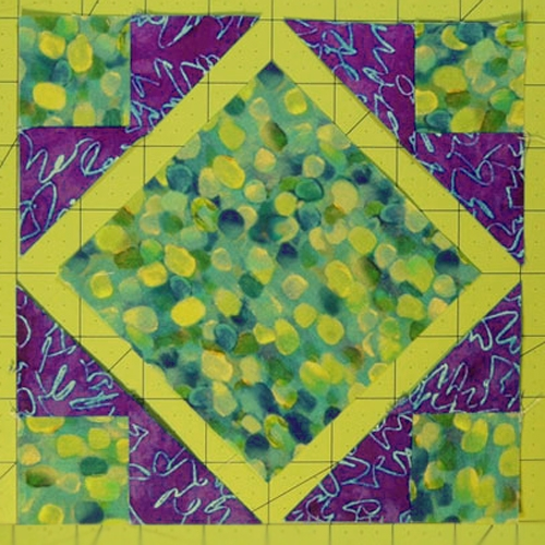 Make an Art Square Quilt Block - Free Pattern & Tutorial