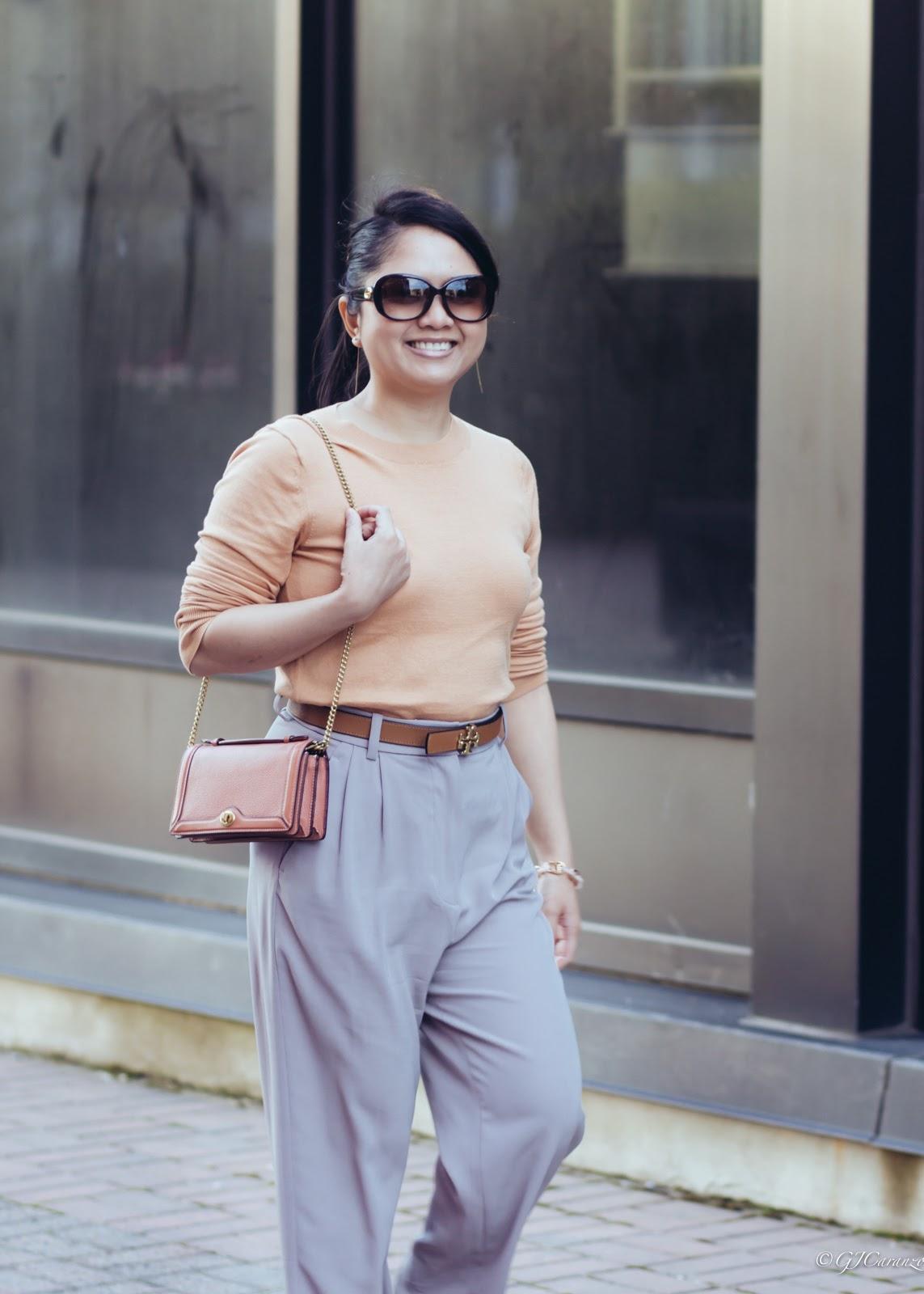 petite office outfit idea