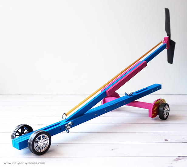 DIY Turbo Racer from Young Woodworkers Kit Club