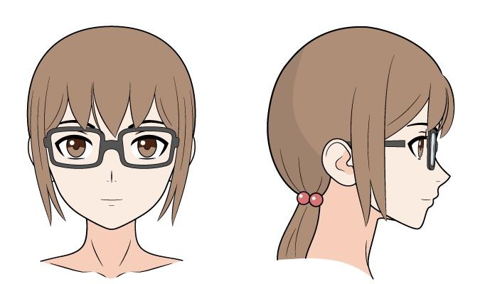 Kacamata anime