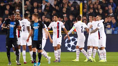 مشاهدة مباراة باريس سان جيرمان وكلوب بروج بث مباشر اليوم 06-11-2019 في دوري ابطال اوروبا