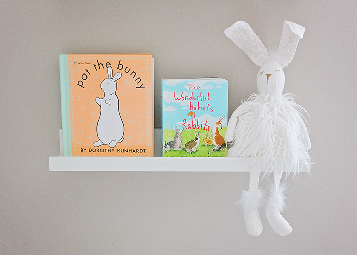 Bunny Themed Baby Nursery