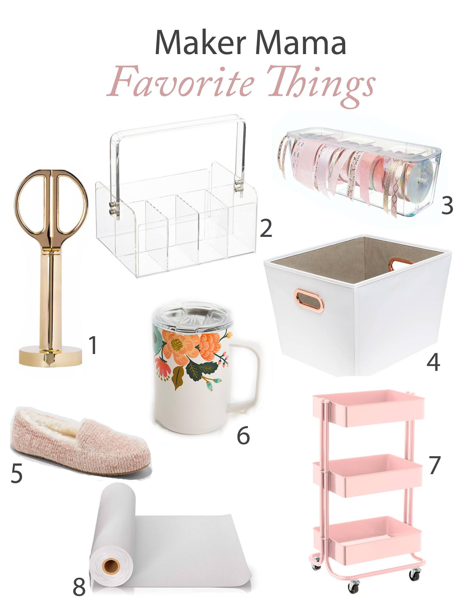 maker mama favorite things