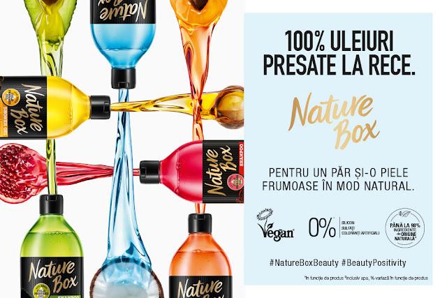 Nature Box 100% uleiuri presate la rece