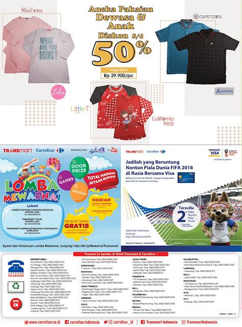 Katalog Promo CARREFOUR Terbaru Periode 25 April - 08 Mei 2018