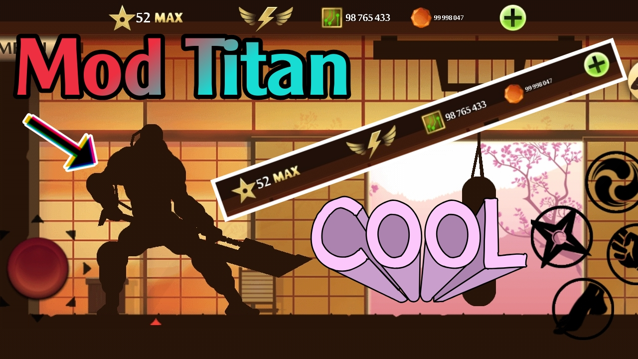 Mod Shadow Fight 2 Vip Titan New 2021