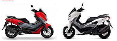 Perbedaan Motor Yamaha Nmax ABS dan Non ABS
