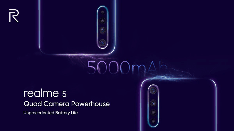 Realme 5, 5 Pro key specs revealed on Twitter