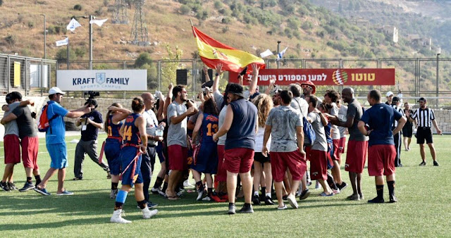 FLAG FOOTBALL - El Team Spain femenino y su oro histórico en Israel