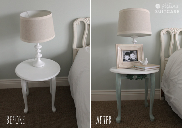 Table Makeover With Chalky Finish Paint From Americana