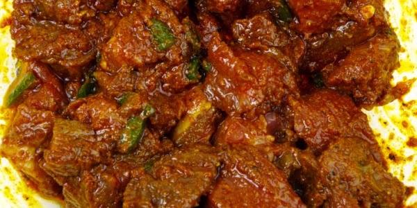 Spicey hot pork curry recipe