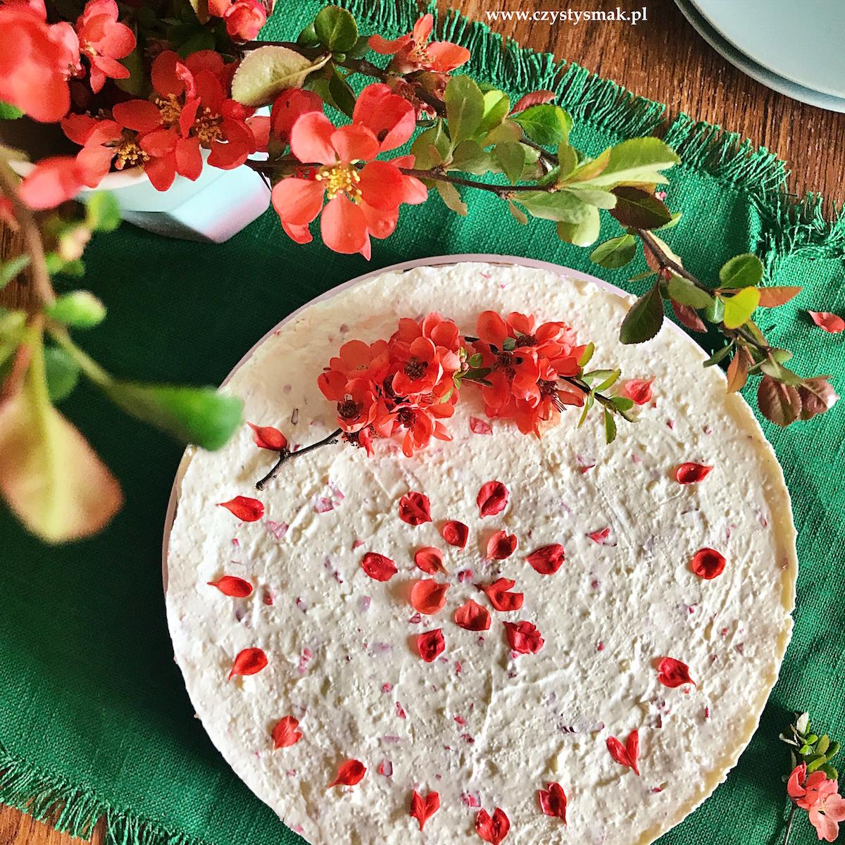 Ciasto śmietankowe bez pieczenia