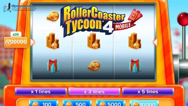 Download RollerCoaster Tycoon 4 MOD APK + OBB Terbaru