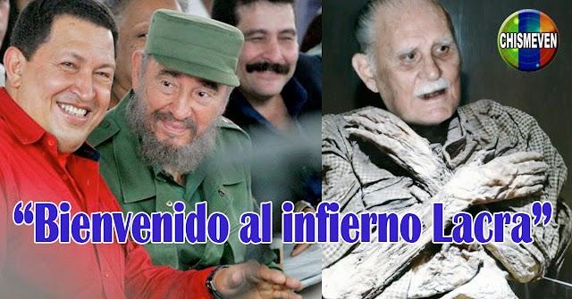 Chavez y Fidel reciben hoy a José Vicente Rangel en el Infierno