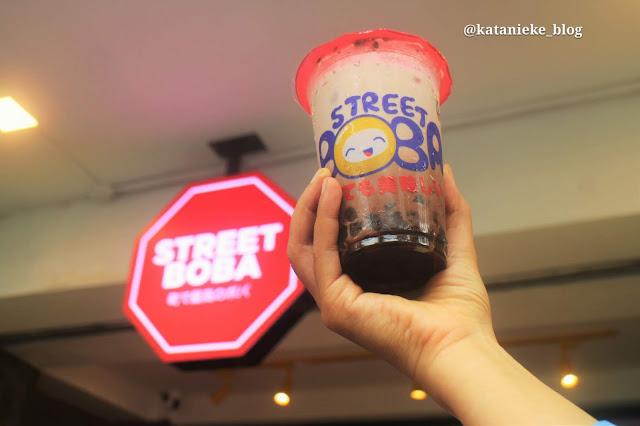Hokkaido Choco, Street Boba minuman kekinian