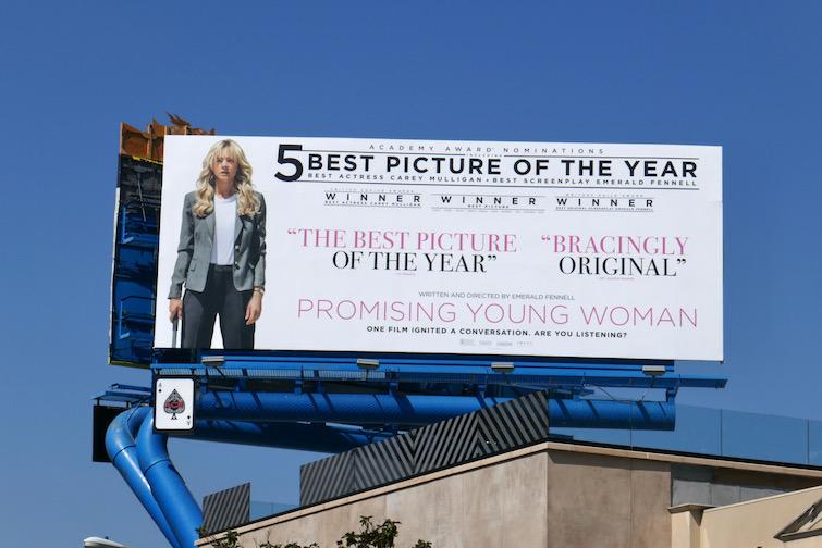 Promising Young Woman Oscar FYC billboard