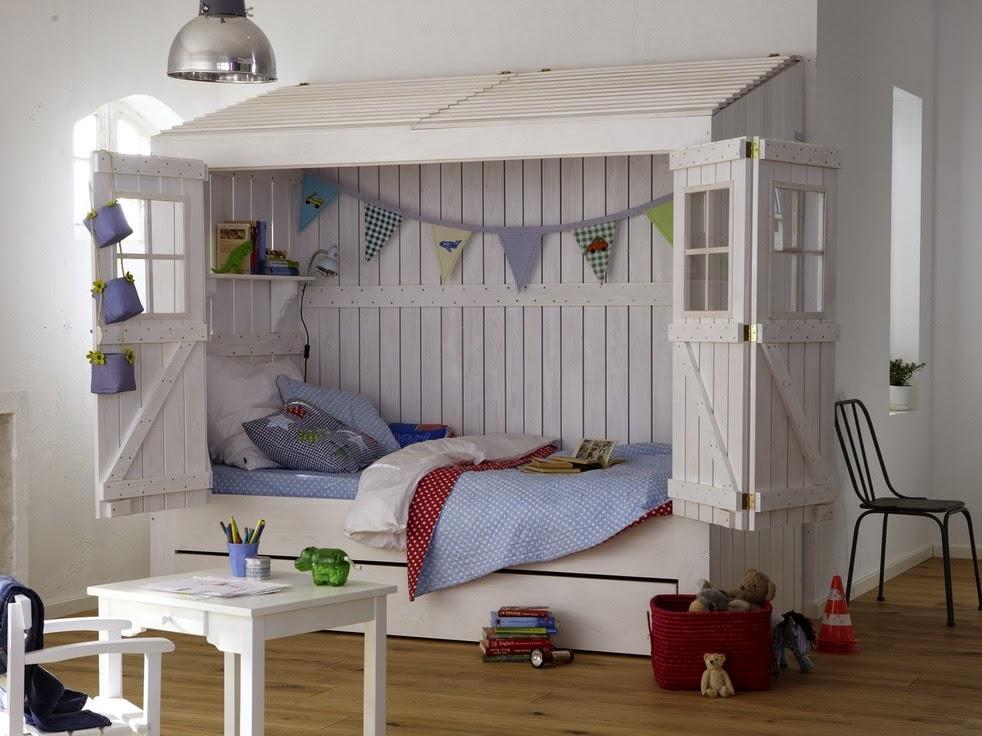 Diseño de cama original infantil