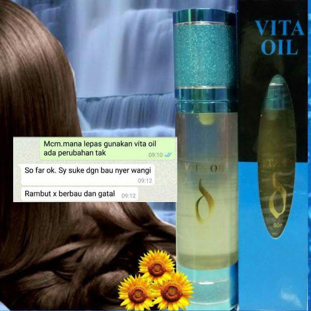 Testimoni Jerslin Vita Oil