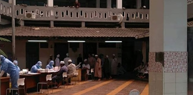 Tiga Jamaah Suspect Corona, Ratusan Orang Diisolasi Di Masjid Jami Di Jakarta Barat