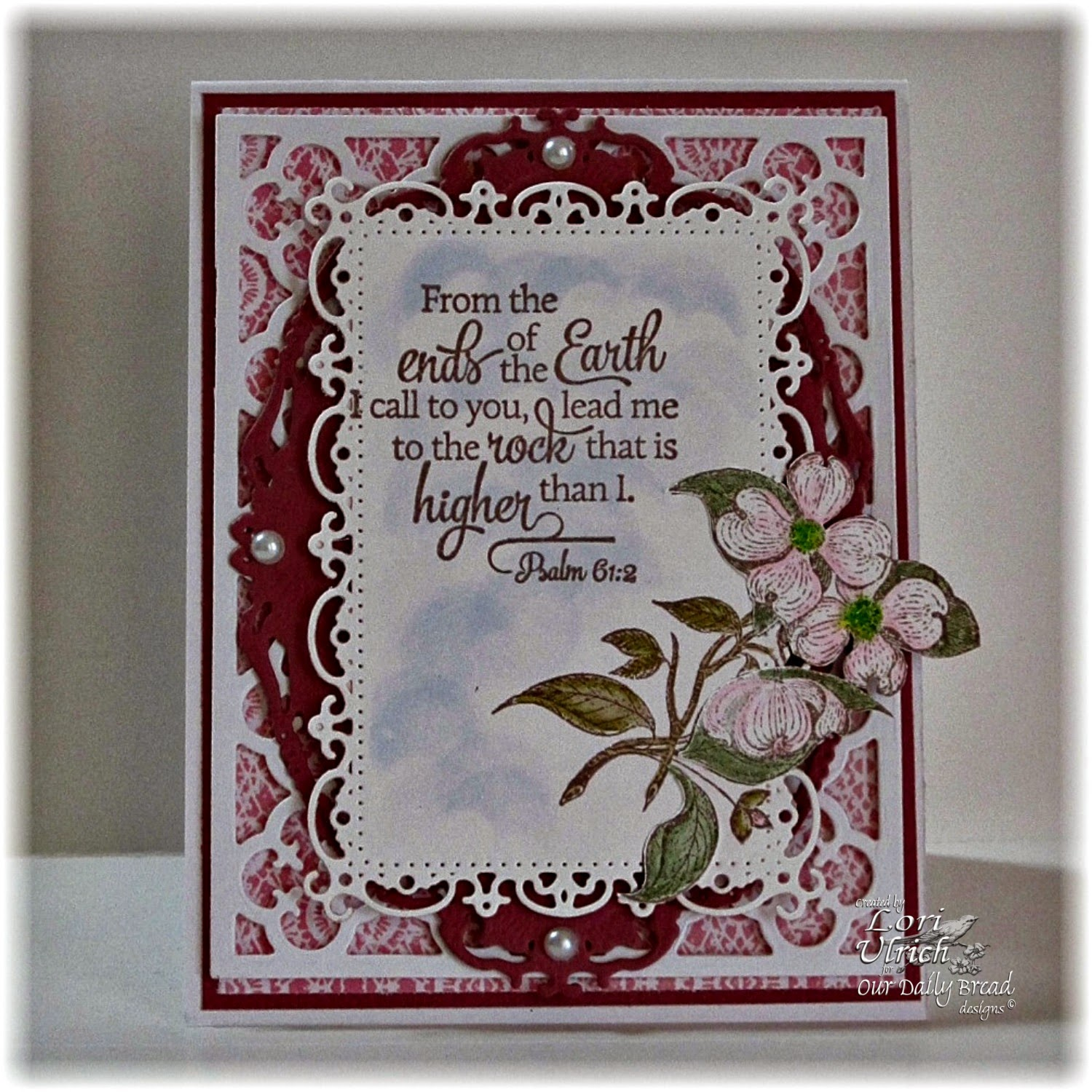 Stamps - Our Daily Bread Designs Scripture Collection 12, ODBD Custom Quatrefoil Pattern Die, ODBD Heart and Soul Paper Collection, Grow in Grace