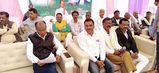 विधायक श्री शाह के नेतृत्व मै किसानों ने राज्यपाल के नाम सौंपा ज्ञापन