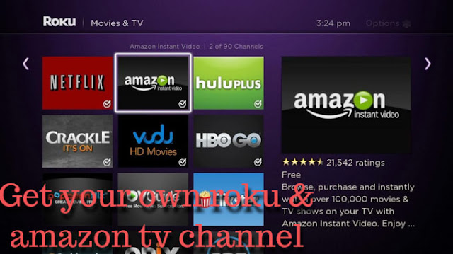 Create roku and amazon tv channel app - kbl mobile plus - island luck mobile app