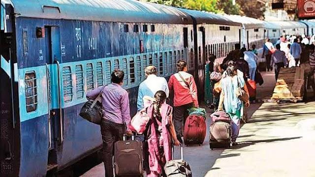 त्योहारों पर इंडियन रेलवे ने दी सौगात