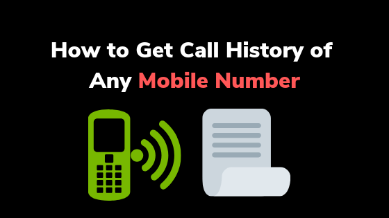 How to Get Call History of Any Mobile Number  - AndroidSci