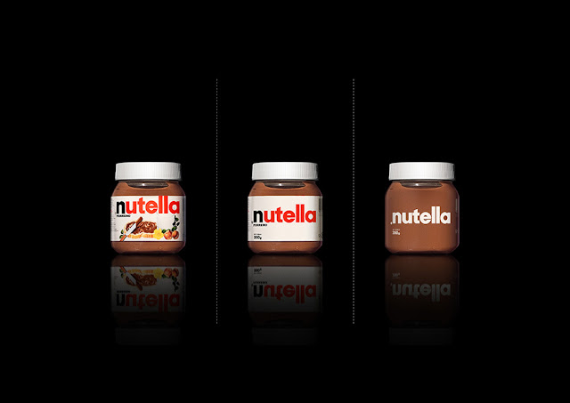 Green Pear Diaries, diseño, packaging, minimalismo, nutella