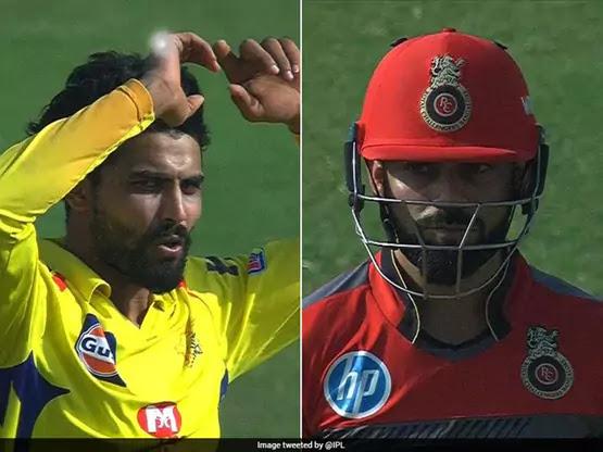 jadeja kohli wicket reaction