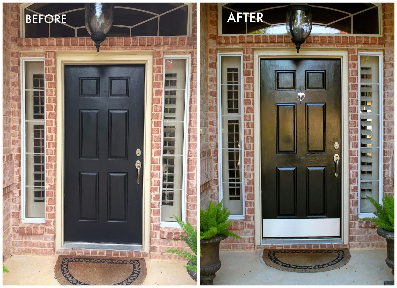 Crafty Texas Girls Painting Your Front Door