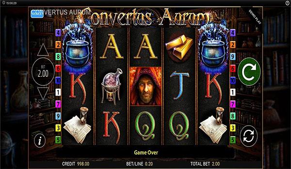 Main Slot Gratis Indonesia - Convertus Aurum (Blueprint Gaming)