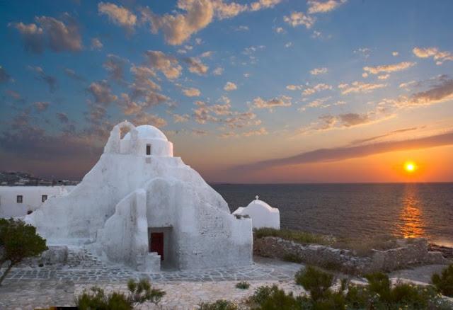 Igreja Panagia Paraportiani, Mykonos