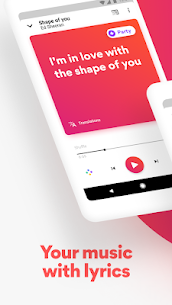 Musixmatch – Lyrics for your music v7.4.2 Final [Premium] APK