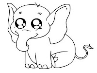 Crying Baby Elephant Printable Pictures