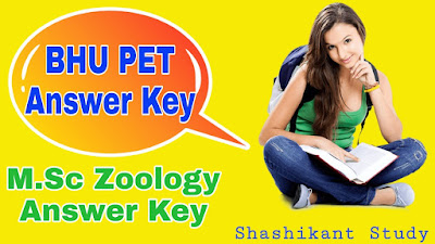 BHU-M.Sc-Zoology-Answer-Key